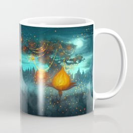 Magical lights Coffee Mug
