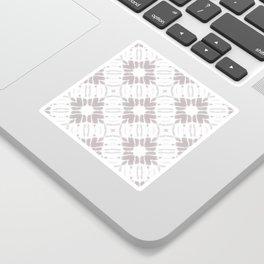 Watercolor Shibori Taupe Sticker