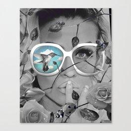 Blu Skies Canvas Print
