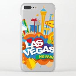 Las Vegas Nevada Clear iPhone Case
