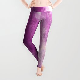 In the Company of Myself: Abstract #4 Leggings