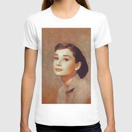 Audrey Hepburn, Hollywood Legend T-shirt