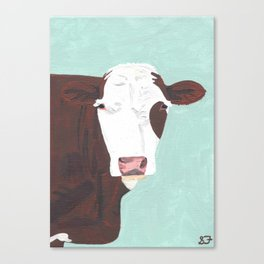 A Heifer Named Tribal Canvas Print