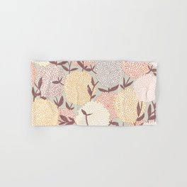 Pastel flowers Hand & Bath Towel