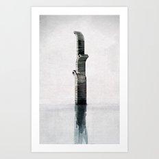 Nach Hong Kong Art Print