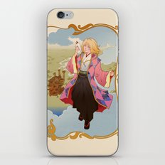 The Boy Who Drank Stars iPhone & iPod Skin