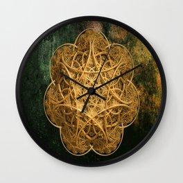 Celtic Gold Wall Clock