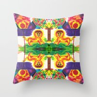 narnia Throw Pillows featuring Narnia by Foxfocus