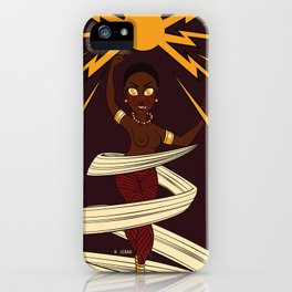 Divine Dames: Oya iPhone Case