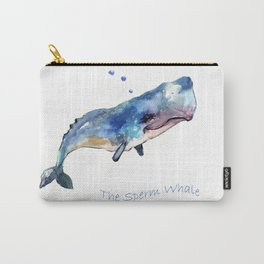 Whale Art Carry-All Pouch