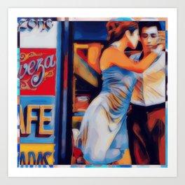 Tango Bar La Boca Buenos Aires Art Print