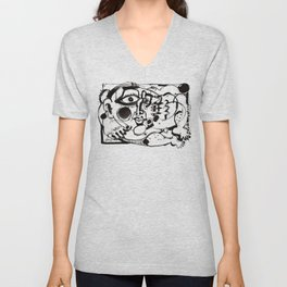 Afternoon Relaxation Unisex V-Neck