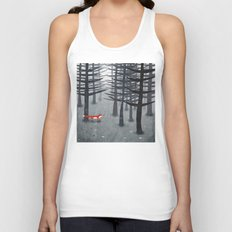 The Fox and the Forest Unisex Tank Top