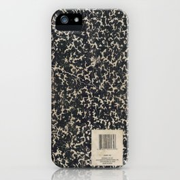 Notebook iPhone Case