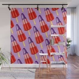 Zoom Ice Lolly 2 Pattern Wall Mural