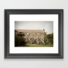 in repair::charleston Framed Art Print