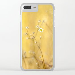 Little summer daises Clear iPhone Case
