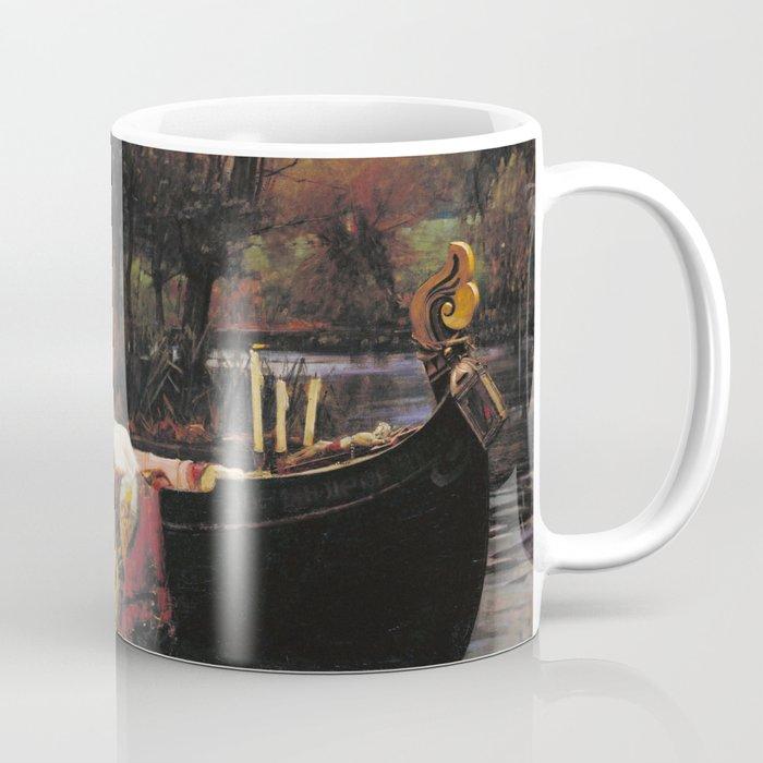 John William Waterhouse - The lady of shalott Coffee Mug