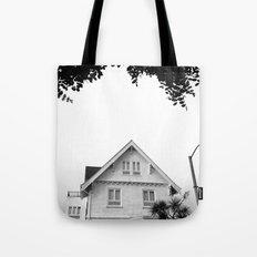 Whit House White Sky Tote Bag