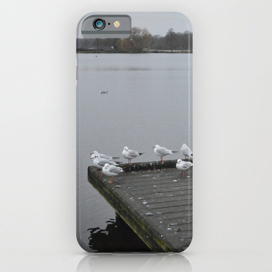 A Cold Day iPhone & iPod Case