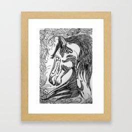 horseseven Framed Art Print