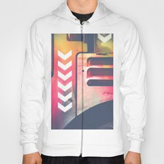 Road Roller Chevron 06 - Industrial Abstract (everyday 23.01.2017) Hoody