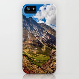 Autumn colors of the old Volсano iPhone Case