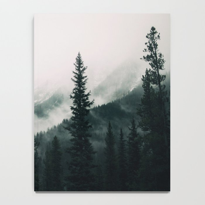 Over the Mountains and trough the Woods -  Forest Nature Photography Notebook