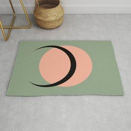 Full / Crescent Moon Abstract VI Rug