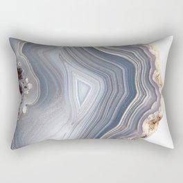 Dreamy Agate Rectangular Pillow