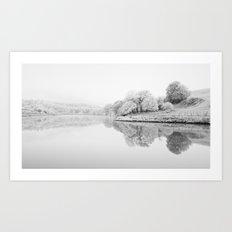 River Usk, Newport Art Print
