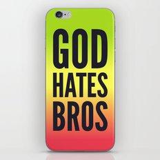 God Hates Bros iPhone & iPod Skin