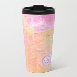 Abstraction World #1. Part 2 Metal Travel Mug