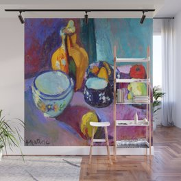 Henri Matisse Dishes and Fruit Wall Mural