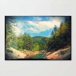 Wilson Creek Canvas Print