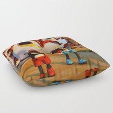 Goodbye Matatoon town Floor Pillow