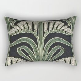 Art Nouveau Botanical Rectangular Pillow