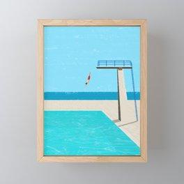 Canicule 4 Framed Mini Art Print