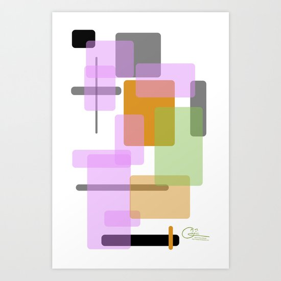 This is not an art Art Print