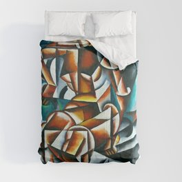 "Lyubov Popova ""Air Man Space"" Comforters"