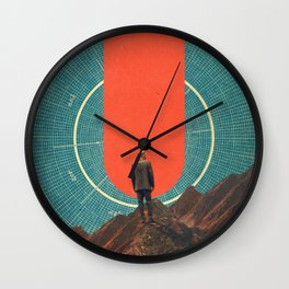 The only Compass is Observance Wall Clock