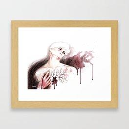 Judas Kiss Framed Art Print