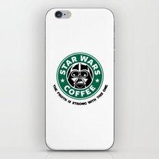 Star Wars Coffee iPhone & iPod Skin