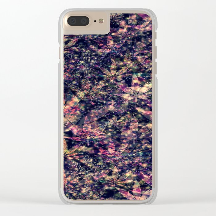 gorgeous weed-127 Clear iPhone Case