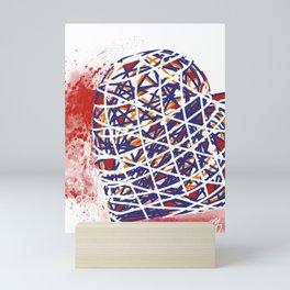 Heart wire Mini Art Print