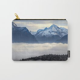 The Sea of Fog in the Alps Carry-All Pouch