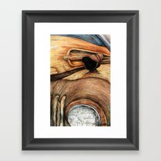 Old Truck Framed Art Print