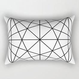 Minimal Geometry | Geometric Decor | Geometric Designs Rectangular Pillow