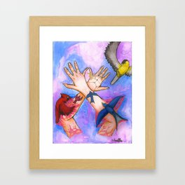 The Birds of My Skin Framed Art Print