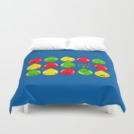 It's All Fun and Games, Until... Duvet Cover
